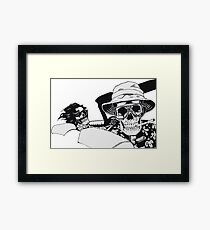 Fear And Dying In Las Vegas Framed Print