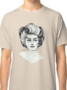 Pen and Ink Portrait Classic T-Shirt