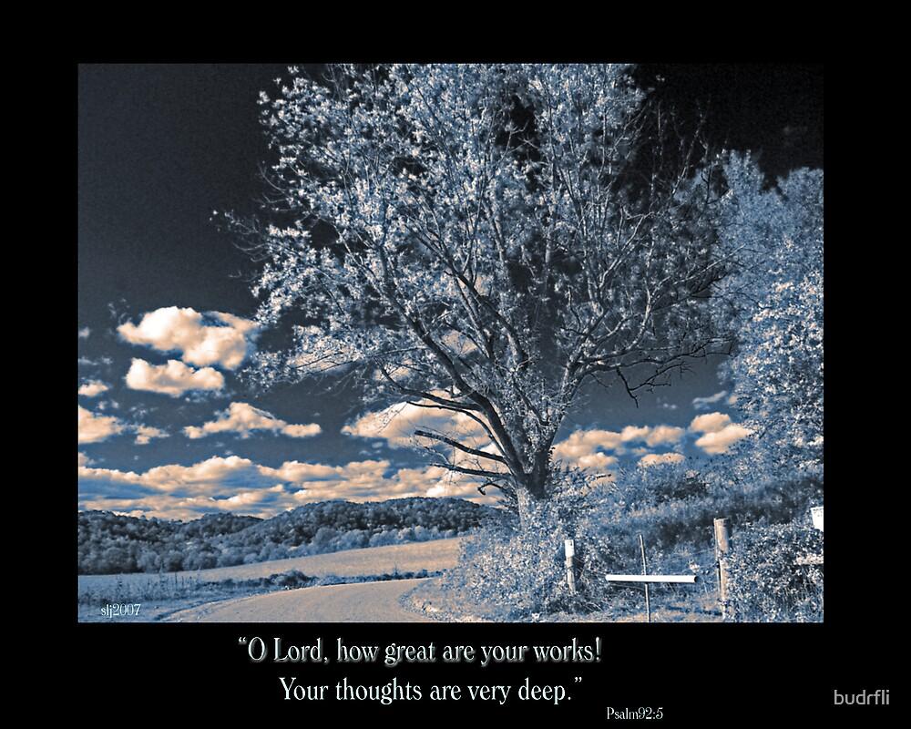 Psalm 92:5 by budrfli