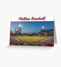 Phillies Baseball Greeting Card