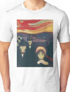Edvard Munch - Anxiety Unisex T-Shirt