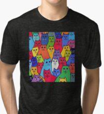 The Cat Pack Tri-blend T-Shirt