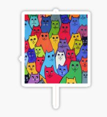 The Cat Pack Sticker