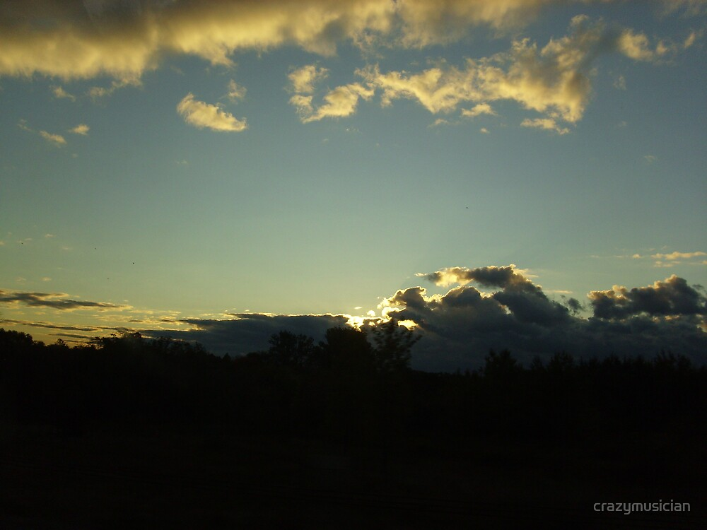 """""""Fall Clouds"""" (3) by crazymusician"""
