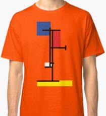 Mondrian Minimalist De Stijl Modern Art III Classic T-Shirt