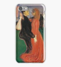 Edvard Munch - Dance Of Life 1900 iPhone Case/Skin