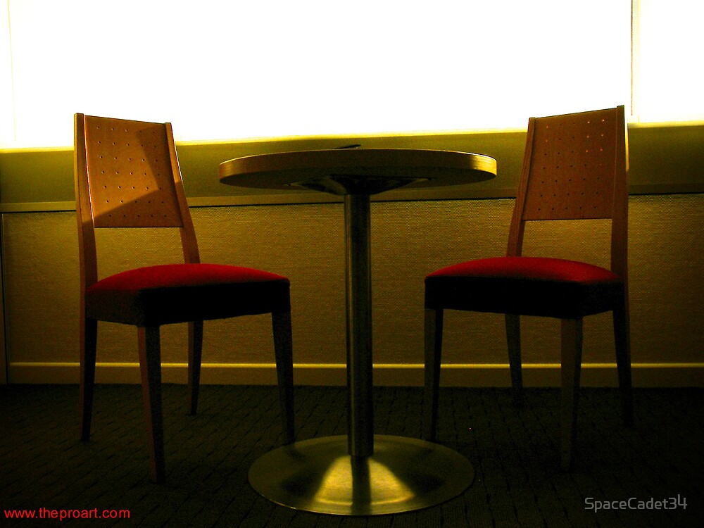 Room 2404 - table for two by SpaceCadet34