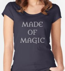 Made Of Magic Women's Fitted Scoop T-Shirt