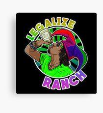 Legalize Ranch Merchandise Canvas Print