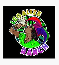 Legalize Ranch Merchandise Photographic Print