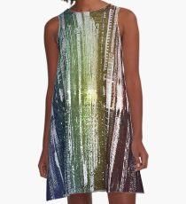 Graphite City A-Line Dress