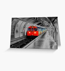 Lonely Underground Greeting Card