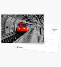 Lonely Underground Postcards