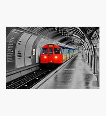 Lonely Underground Photographic Print