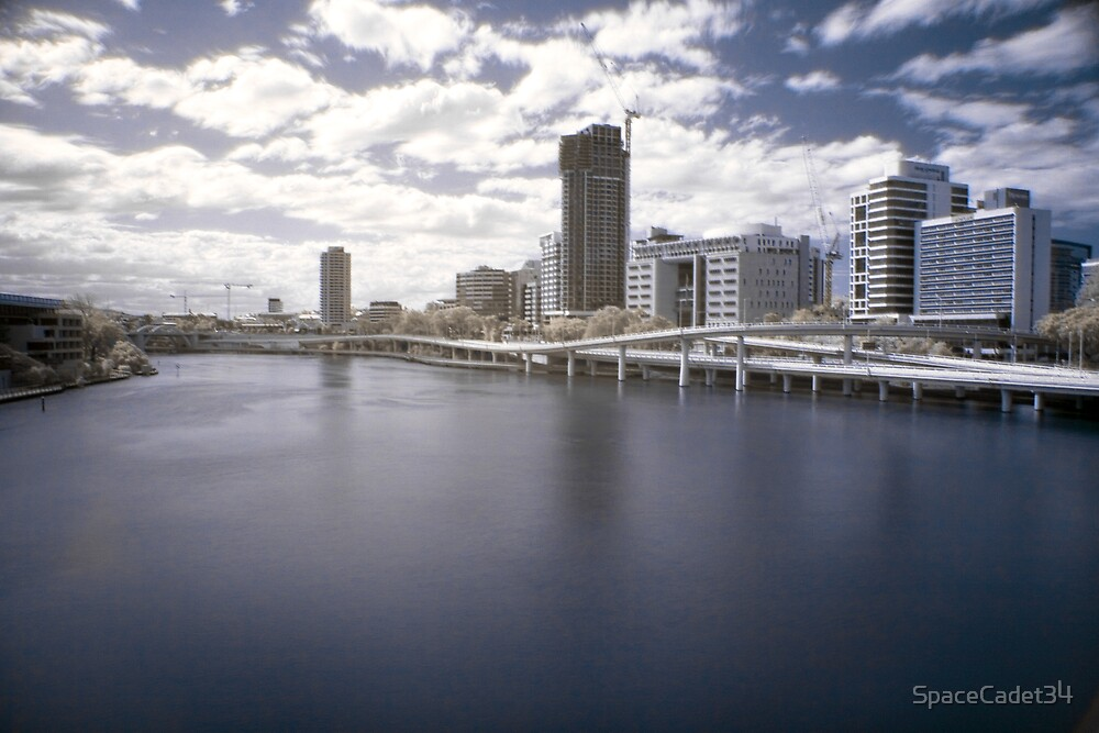 postcard: Brisbane by SpaceCadet34