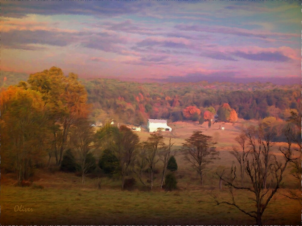 Up On Crooked Run Road by Charles Oliver