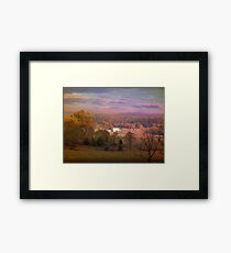 Up On Crooked Run Road Framed Print