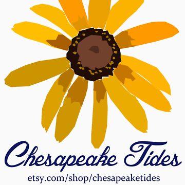 Black Eyed Susan Chesapeake Tides Shirt by chesapeaketides