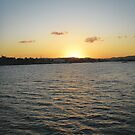 Sunset @ Hamilton, Brisbane by Jasna Bogdan