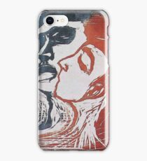 Edvard Munch - Man And Woman I 1905 iPhone Case/Skin