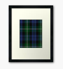 Argyll Campbell Clan/Family Tartan  Framed Print