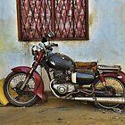 Old Motorbike - Sri Lanka by Brendan Buckley
