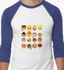 Street Fighter 2 Turbo Mini Men's Baseball ¾ T-Shirt