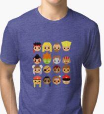 Street Fighter 2 Turbo Mini Tri-blend T-Shirt