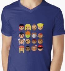 Street Fighter 2 Turbo Mini Men's V-Neck T-Shirt