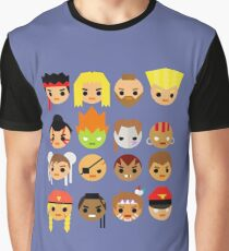 Street Fighter 2 Turbo Mini Graphic T-Shirt