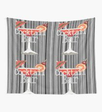 Cocktail Bar Wall Tapestry