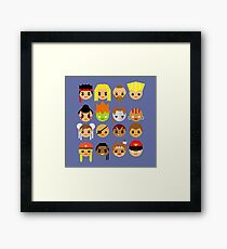 Street Fighter 2 Turbo Mini Framed Print