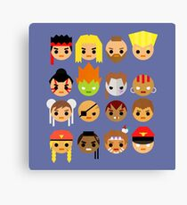 Street Fighter 2 Turbo Mini Canvas Print