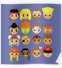 Street Fighter 2 Turbo Mini Poster