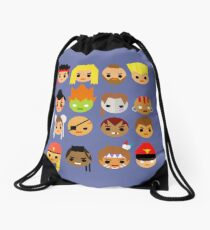 Street Fighter 2 Turbo Mini Drawstring Bag