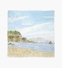 Watercolor Beach Scarf
