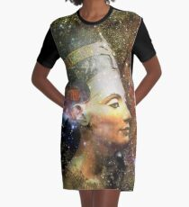 nefertiti  Graphic T-Shirt Dress