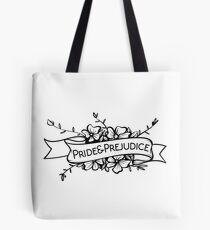 Pride and prejudice Jane Austen Tote Bag