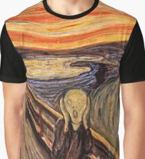 Edvard Munch - The Scream 1893 Graphic T-Shirt