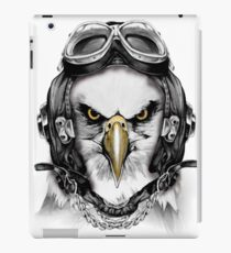 Air force pilot white eagle  iPad Case/Skin