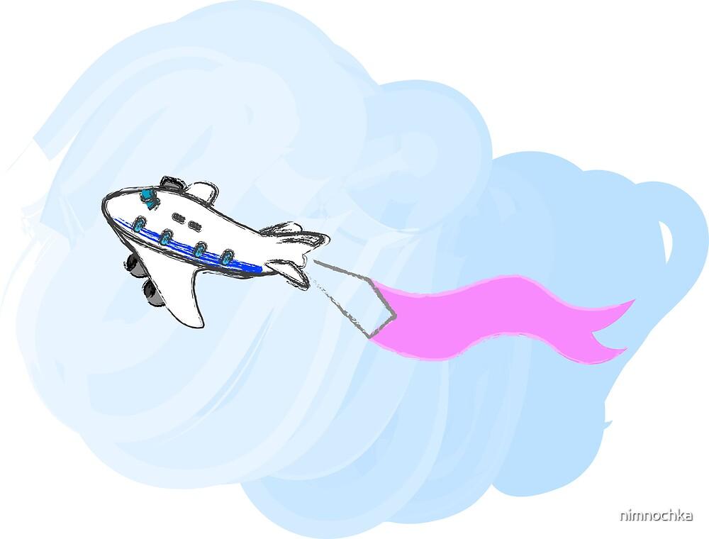 Airplane by nimnochka