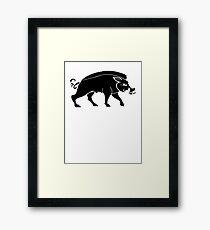 House Crakehall Framed Print