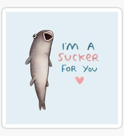 Suckerfish Sticker