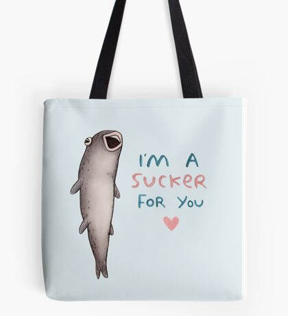 Suckerfish Tote Bag