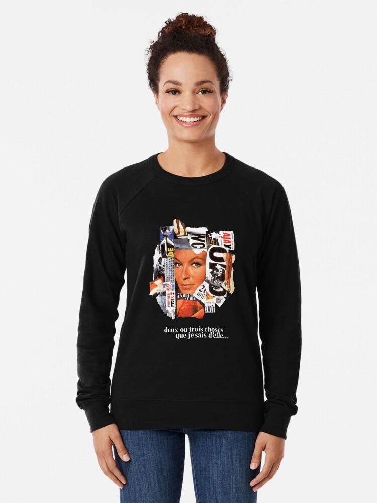Alternate view of 2 ou 3 choses Lightweight Sweatshirt