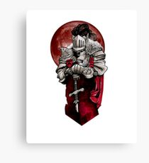 Dungeons, Dragons and Death Canvas Print