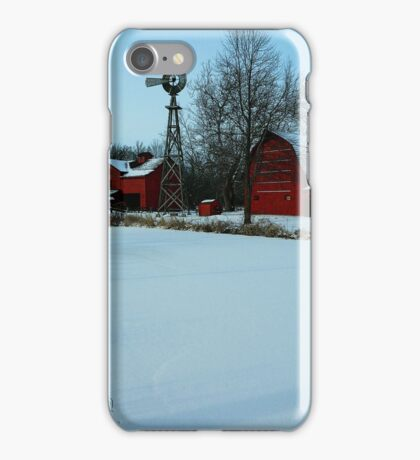 A peaceful winter view..:) iPhone Case/Skin