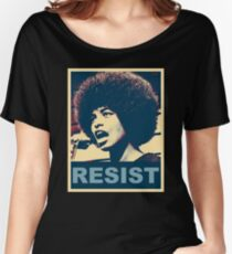 Angela -RESIST Women's Relaxed Fit T-Shirt