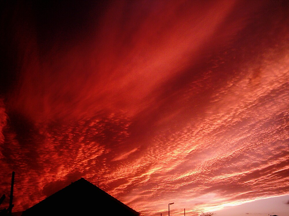 fire sky by mossa