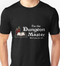 I'm the Dungeon Master (Dark) Unisex T-Shirt